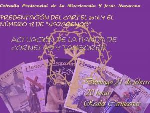 cartel presentacion actos 2016